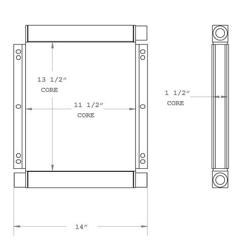 270760 - Oil Cooler Oil Cooler