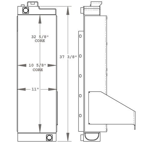 270761 - Oil Cooler Oil Cooler
