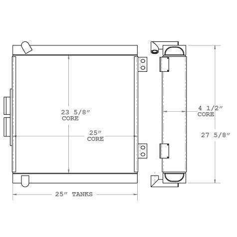 270778 - Oil Cooler Oil Cooler