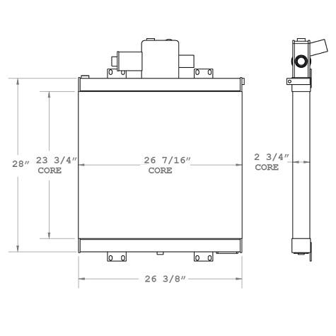 270780 - Oil Cooler Oil Cooler