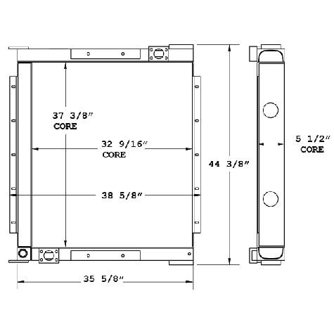270786 - Oil Cooler Oil Cooler