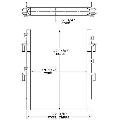 270787 - Oil Cooler Oil Cooler