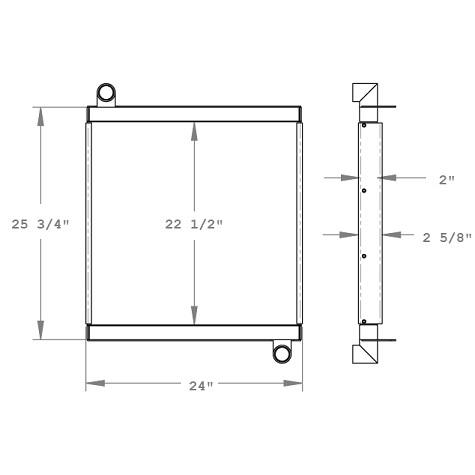 270790 - Oil Cooler Oil Cooler