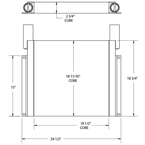 270813 - Frac Pump Oil Cooler Oil Cooler