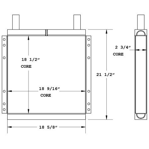 270819 - Cooling Tower Oil Cooler Oil Cooler