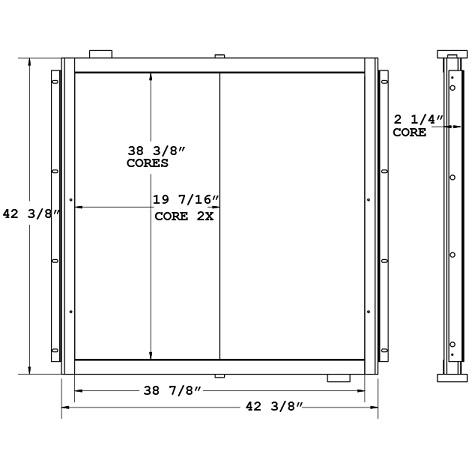 270821 - Industrial Oil Cooler Oil Cooler