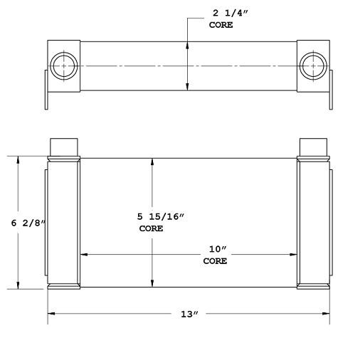 270823 - Industrial Oil Cooler Oil Cooler