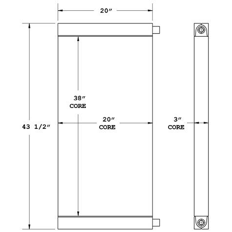 270824 - Industrial Oil Cooler Oil Cooler