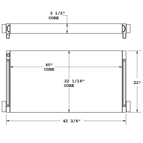 270836 - Industrial Oil Cooler Oil Cooler