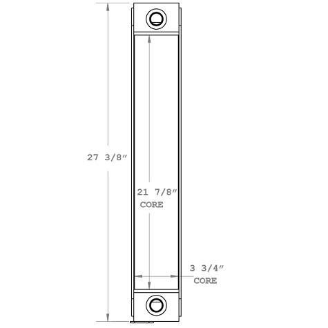 270847 - Industrial Oil Cooler Oil Cooler