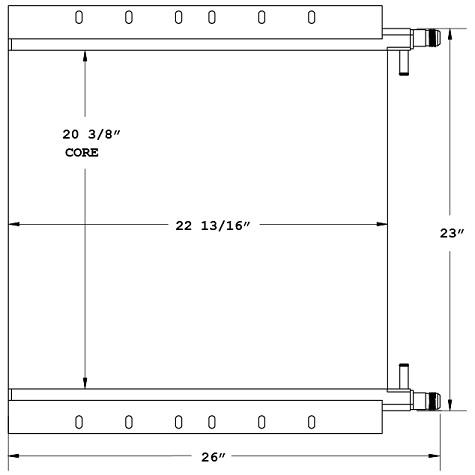 270850 - Ingersoll Rand / Volvo Roller Oil Cooler Oil Cooler
