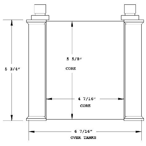 270855 - Industrial Oil Cooler Oil Cooler