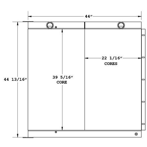 270868 - Industrial Oil Cooler Oil Cooler