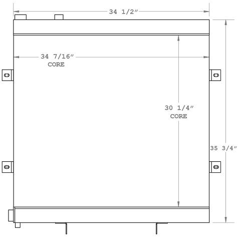 270869 - Industrial Oil Cooler Oil Cooler
