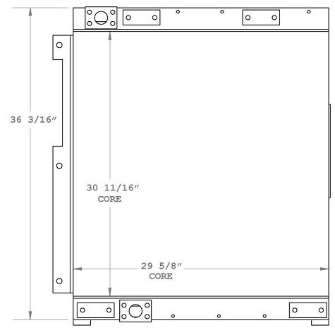 270871 - Doosan DX350LC-3 Oil Cooler Oil Cooler