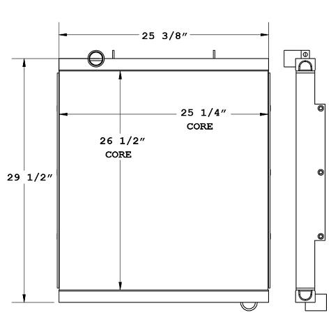 270876 - Industrial Oil Cooler Oil Cooler