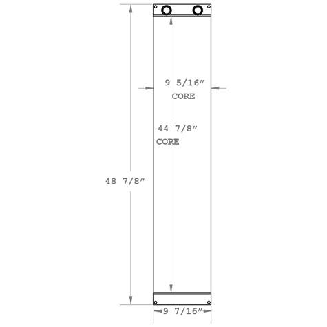 270881 - Industrial Oil Cooler Oil Cooler