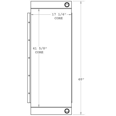 270890 - Industrial Oil Cooler Oil Cooler