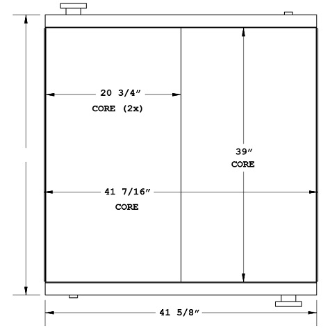 270894 - 1978 American Crane 8460 Oil Cooler Oil Cooler