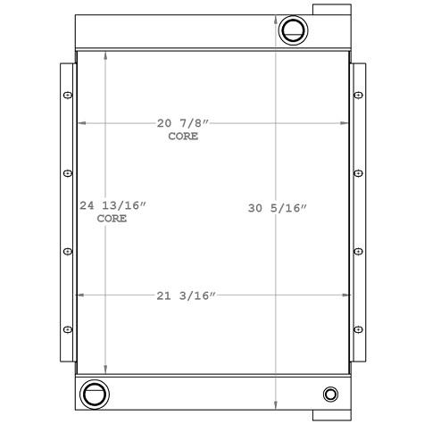 270914 - Industrial Compressor Oil Cooler Oil Cooler