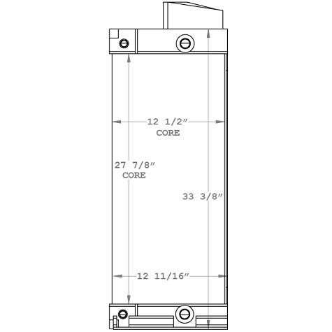 270915 - Industrial Oil Cooler Oil Cooler