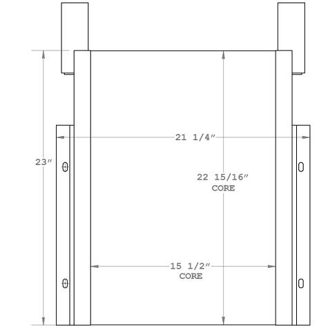 270917 - Industrial Oil Cooler Oil Cooler