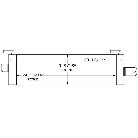 270927 - Case Wheel Loader Oil Cooler Oil Cooler