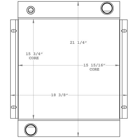 270939 - Hydac Oil Cooler Oil Cooler
