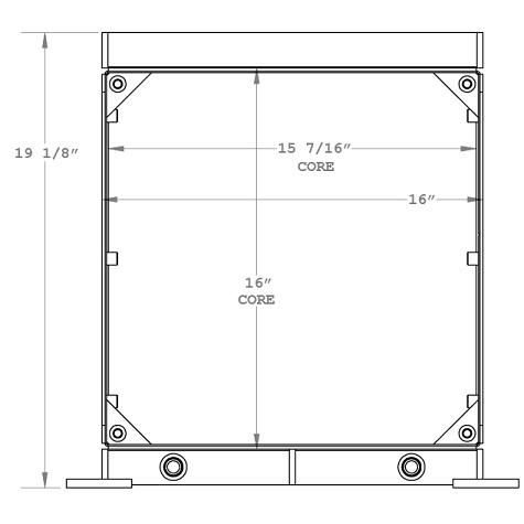 270942 - Industrial Oil Cooler Oil Cooler