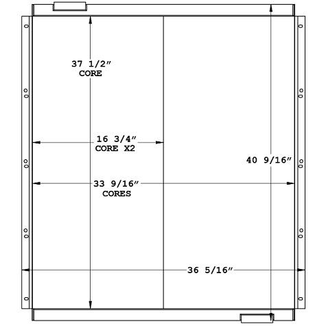 270956 - Industrial Oil Cooler Oil Cooler