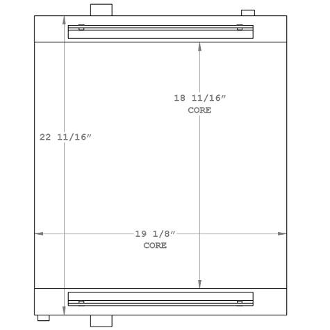 270961 - Travaini Vacuum Pump Oil Cooler Oil Cooler