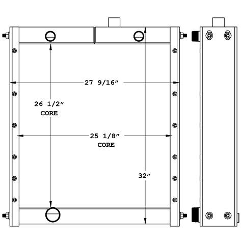 270962 - Industrial Oil Cooler Oil Cooler