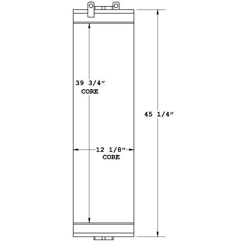 270963 - Komatsu D66S-1 Oil Cooler Oil Cooler