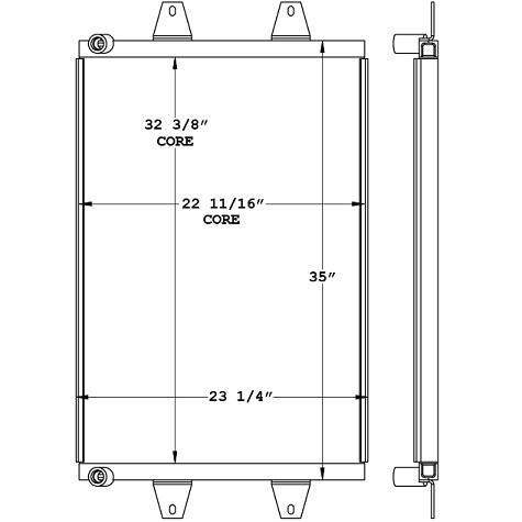 270985 - Ford / Sterling Transmission Oil Cooler Oil Cooler