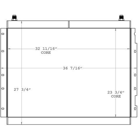 270990 - Patch Dredger Oil Cooler Oil Cooler