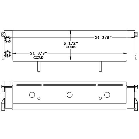 270992 - Hyster Lift Truck Oil Cooler Oil Cooler