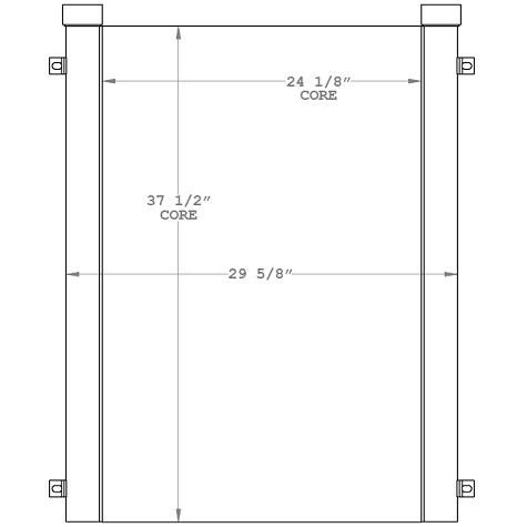270993 - Industrial Oil Cooler Oil Cooler