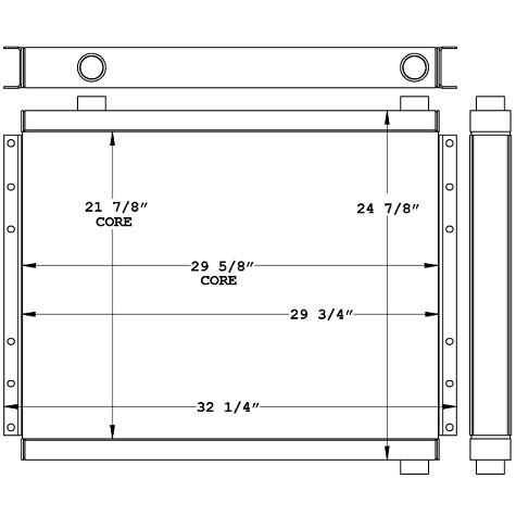 271020 - Industrial Oil Cooler Oil Cooler