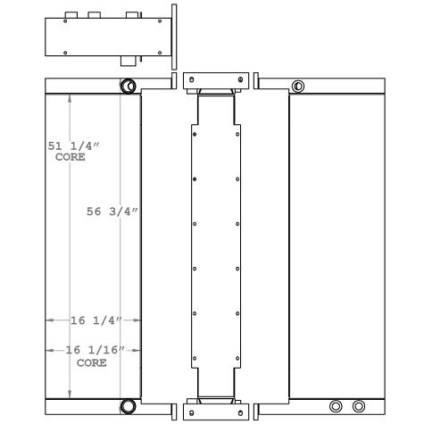 271021 - Wirtgen Ashpalt Oil Cooler Oil Cooler