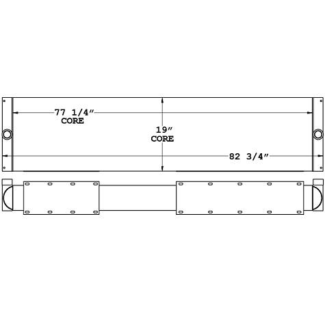 271029 - Industrial Oil Cooler Oil Cooler