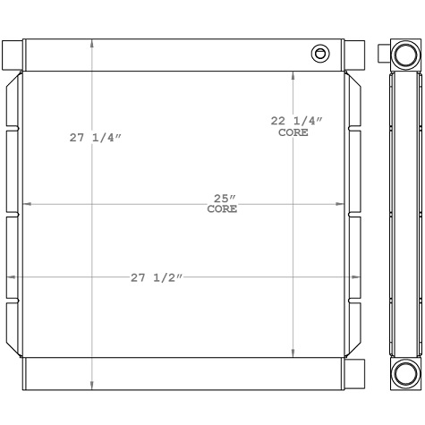 271030 - Industrial Hydraulic Oil Cooler Oil Cooler