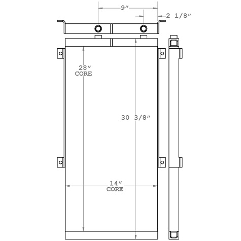 271032 - Industrial Oil Cooler Oil Cooler
