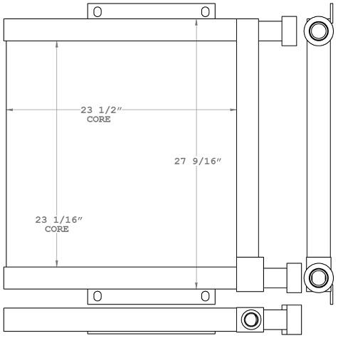 271063 - Industrial Oil Cooler Oil Cooler