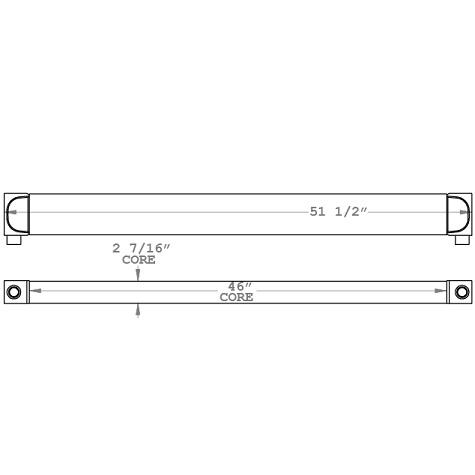 271066 - Industrial Oil Cooler Oil Cooler