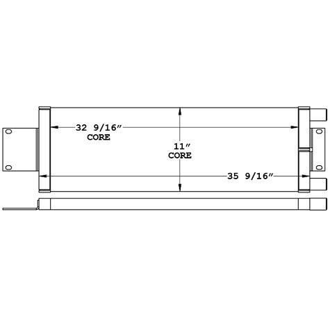 271072 - Crane Fuel Cooler Oil Cooler