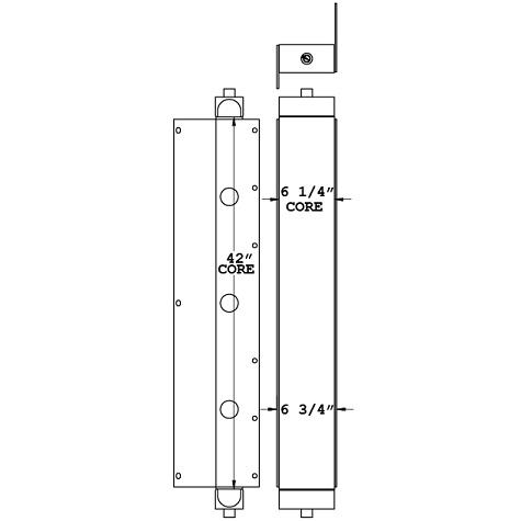 271082 - Motorhome Transmission Oil Cooler Oil Cooler