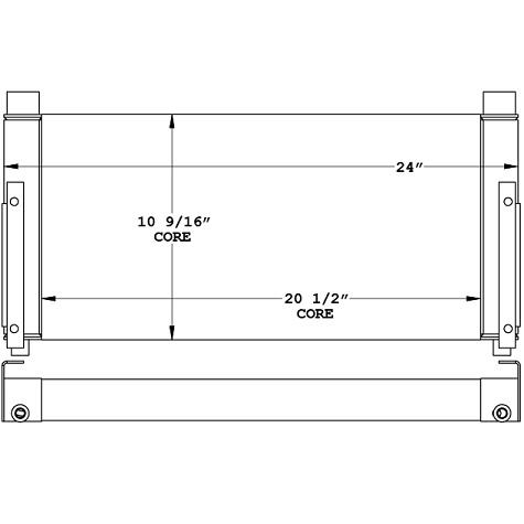 271094 - Industrial Oil Cooler Oil Cooler