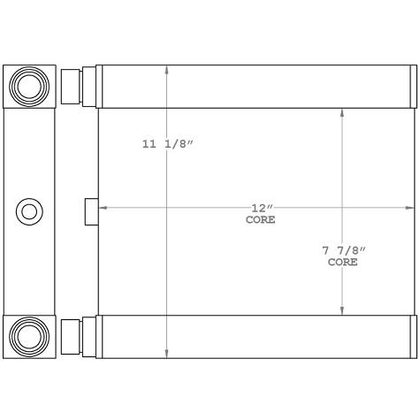 271106 - Setrab Industrial Oil Cooler Oil Cooler