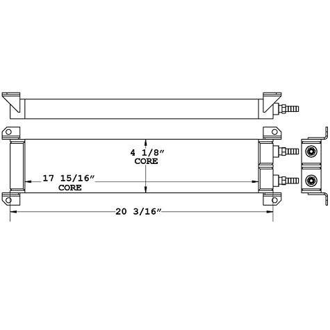 271119 - Powertech Fuel Cooler Oil Cooler
