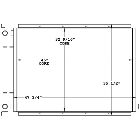 271124 - Industrial Oil Cooler Oil Cooler